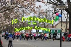 10. Frühlingslauf in die Bucksche Schweiz