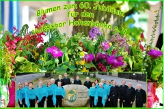 60. Jahre Volkschor Hohenbocka